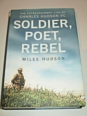 Charles Hudson VC CB DSO MC/Victoria Cross/WWI/Ypres/Sherwood Foresters/Signed