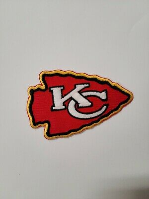 Kansas City Chiefs Embroidered Patch-Iron Sew ON- NFL