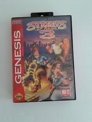 SEGA GENESIS GAME  STREETS OF RAGE 3 for sale  Chicago