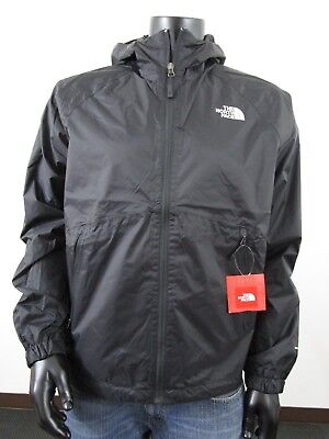 Mens TNF The North Face Boreal Dryvent Waterproof Hooded Rain Jacket - Black The North Face Hooded Vest
