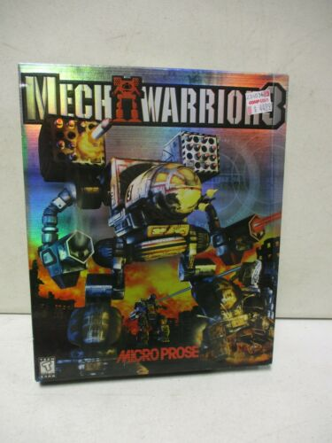 Microprose Mech Warriors PC Game