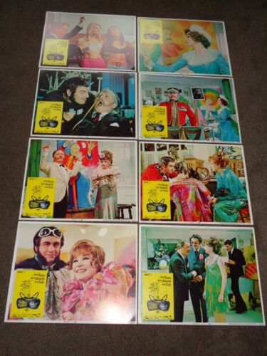 """Shirley MacLaine """"The Bliss of Mrs. Blossom"""" 1968 US 14 x 11 inches FOH Set"""