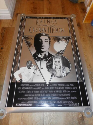 UNDER THE CHERRY MOON - ORIGINAL SS ROLLED POSTER - PRINCE - PLEASE READ NOTES