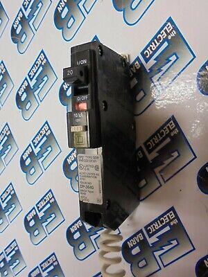 Square D Qob120cafi 20 Amp 120 Volt 1 Pole Afci Circuit Breaker - Warranty