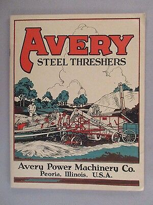 Avery Threshers CATALOG - 1928 ~~ farm, farming, agriculture