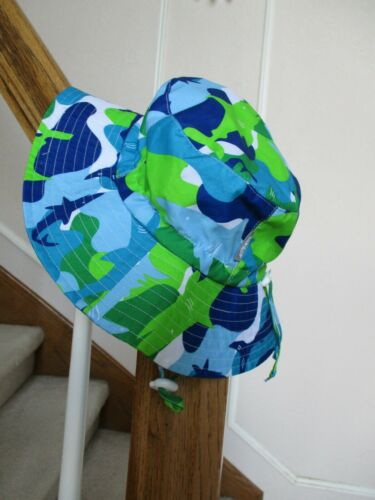 NEW JAN & JUL GROW WITH ME  ADJUSTABLE SUN HAT SIZE LARGE FREE SHIPPING