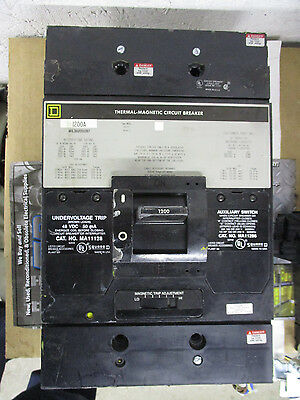 Square D Mhl3612001287 1200 Amp 600 Volt Circuit Breaker- Recon W Test Report