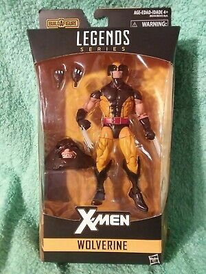 "Marvel Legends WOLVERINE brown | Juggernaut BAF Series 6"" Figure 2016 X-MEN NEW"