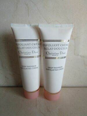 CHRISTIAN DIOR (LOT OF 2) DEEP RADIANCE EXFOLIATING CREME 2.6 OZ  Deep Radiance Exfoliating Cream