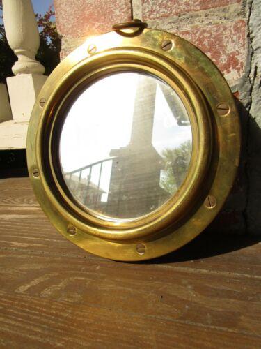 Vintage Nautical Brass Ship