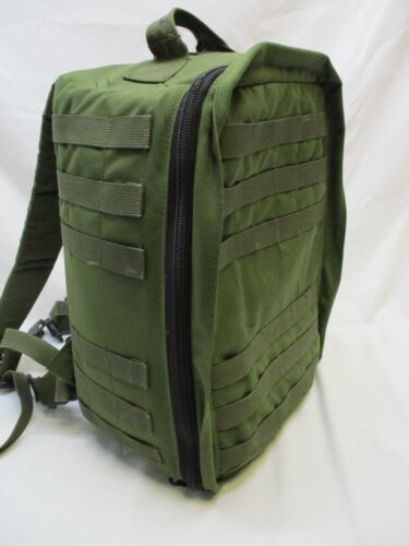 TACTICAL TAILOR M5 MEDIC PACK MILITARY AID BAG OD GREEN w. REMOVABLE DIVIDERS