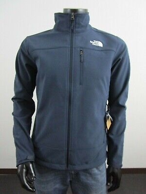 NWT Mens TNF The North Face Apex Bionic FZ Softshell Windproof Jacket - Navy  North Face Apex Bionic Jacket