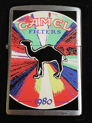 Zippo Camel Decade Series 1980's Z 568 Year 2000 VERY RARE 100 Made MNT