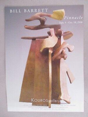 Bill Barrett Art Gallery Exhibit Print Ad   2008