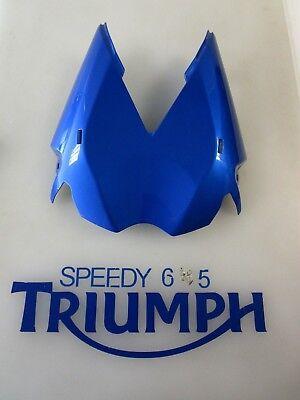 TRIUMPH STREET TRIPLE  R UNDERTRAY PANEL CARRIBEAN BLUE A9708342 JV 2