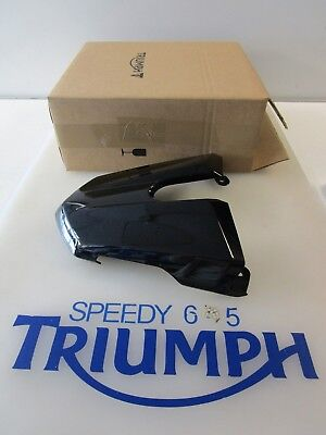 TRIUMPH STREET TRIPLE  R REAR SEAT COWL PHANTOM BLACK A9708271 PR 201