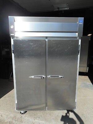 Mccall 2 Dr. Commercial Freezer 115v Casters 8 Shelves Impeccable Condition