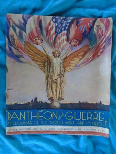 Pantheon de la Guerre (WWI),  George Washington Bi-Centennial 1932