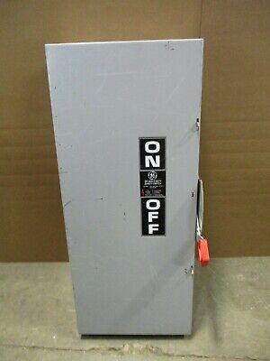 Ge Th3364 Model 10 200 Amp 600 Volt 3p3w Fusible Nema 1 Disconnect