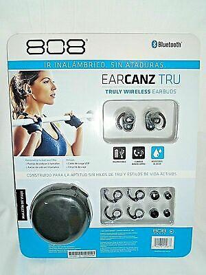 "808 EARCANZ TRU Truly Wireless Earbuds Bluetooth ""NEW"""