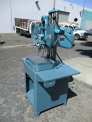 Burgmaster Model 1d Multi Spindle Turret Drill Press W Tooling And Cabinet