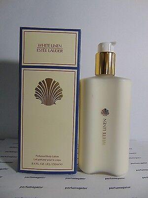 ESTEE LAUDER WHITE LINEN Perfumed Body Lotion 8.4 oz / 250 ml ~INBOX~ BRAND NEW