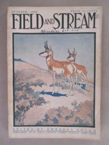 Field & Stream Magazine - October, 1904 ~~ Field and Stream