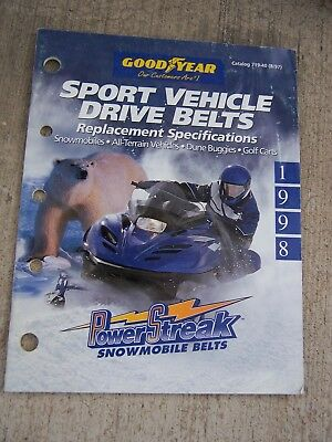 1970 OMC Ski Horse Drive Belt Dayco HP Snowmobile OEM Upgrade Replacement ll