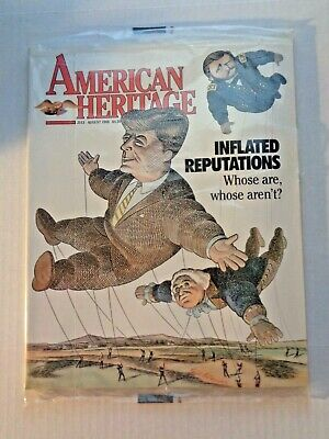 American Heritage Magazine August 1988 NEW Sealed Vintage Advertising Periodical