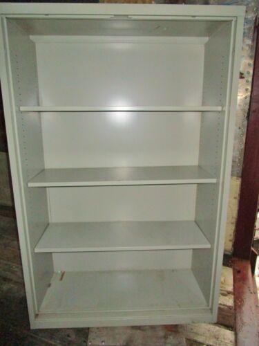 STEELCASE METAL BOOKCASE ADJUSTABLE BOOKSHELVES 3 shelf office furniture Used
