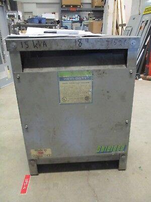 Gshevi Duty T5h15s 15 Kva 3 480 X 240120 Volt Transformer- T1526