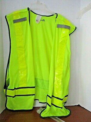 Iron Horseyellow Reflective Mesh Safety Vestmens Xxl