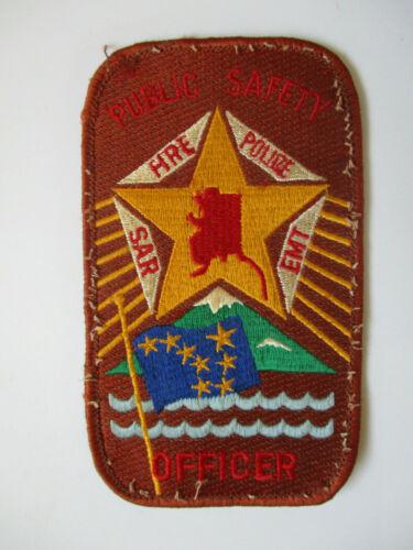 vintage 1990s ? VPO ? Village Police Alaska Safety Officer Fire ? Police ? Patch
