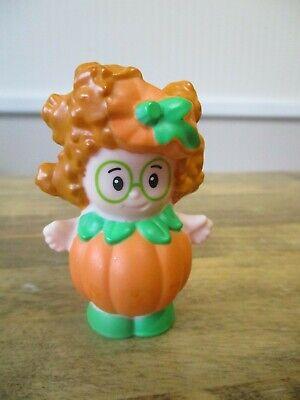 Fisher Price Little People Pumpkin Halloween Costume Girl