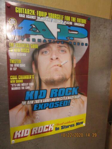 KID ROCK Alternative Press 1999 PROMO POSTER MACK DADDY DEVIL WITHOUT A CAUSE
