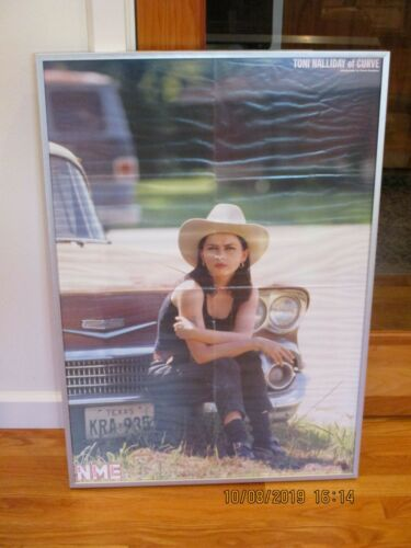 Rare Toni Halliday Curve Double-Sided NME Poster