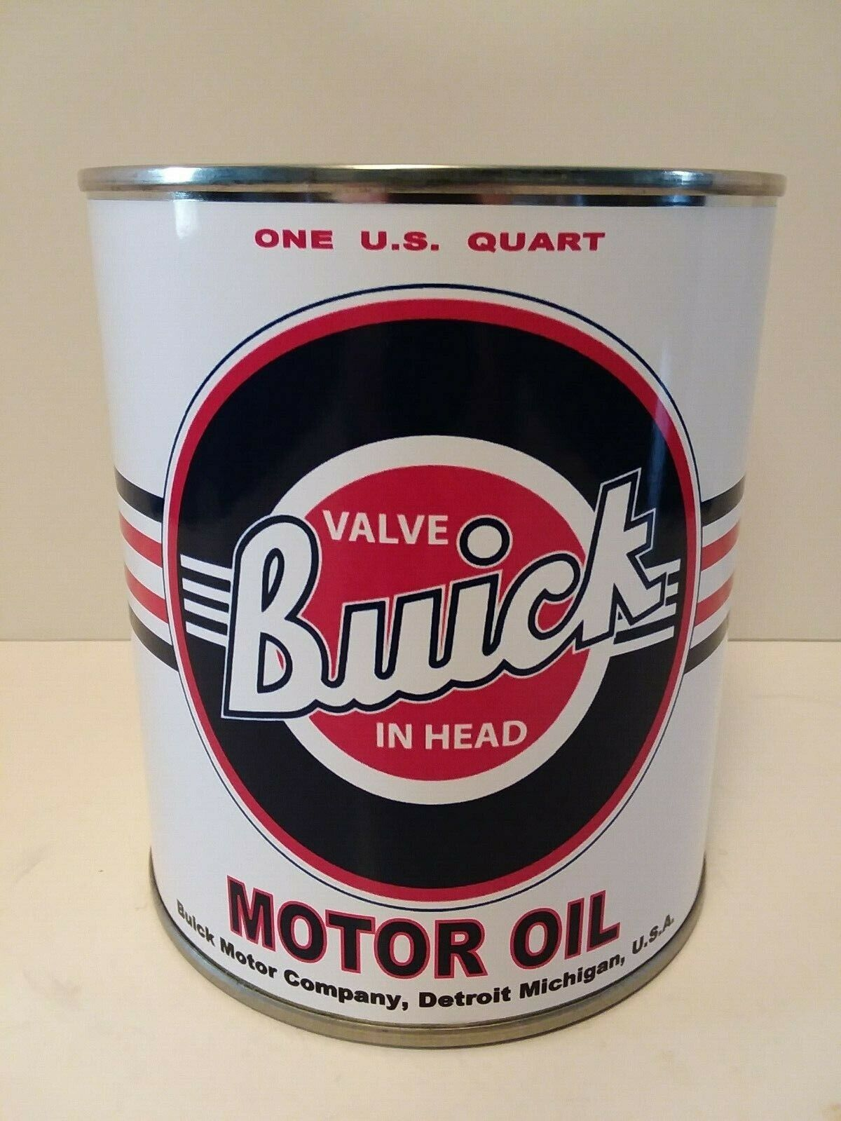 Vintage Buick Motor Oil Can 1 qt -