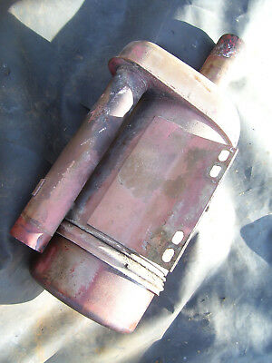 Original Massey Harris 555 Diesel Tractor -engine Air Cleaner - 1957