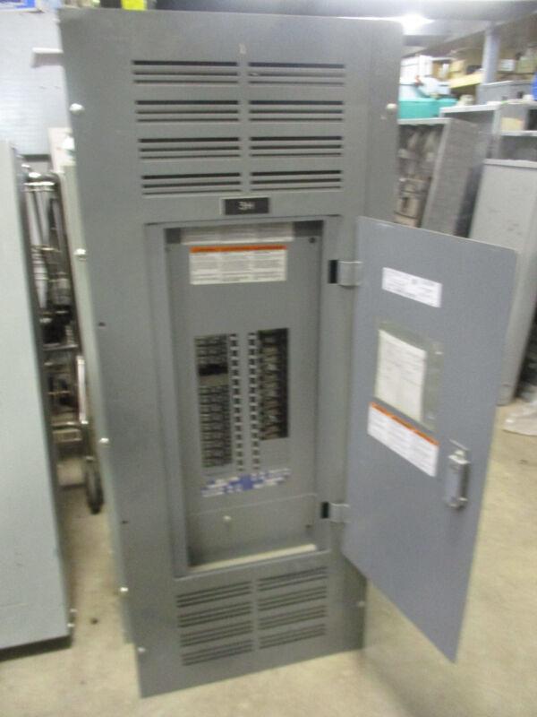 Square D NQOD Panelboard, 300 Amp Main Lug, 120/208 Volt 30 Circuit, - E1908