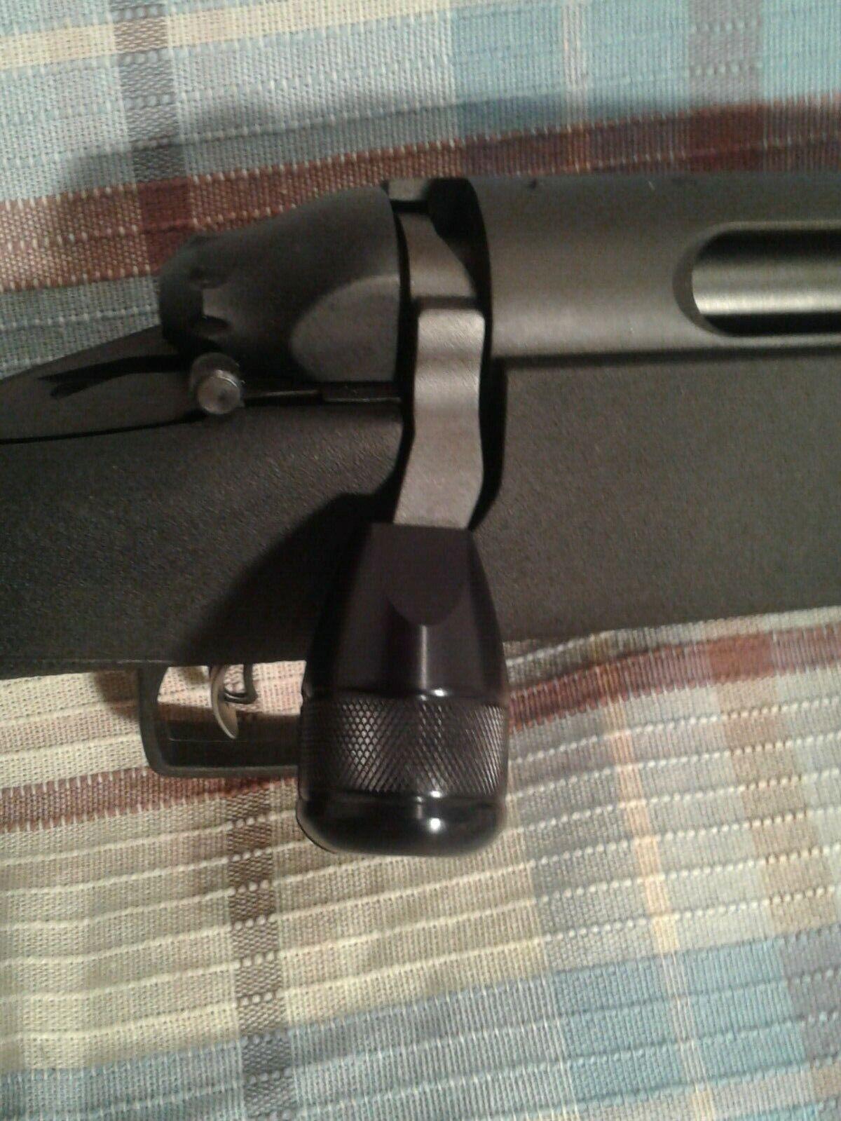 700 black bolt on knob tactical knob