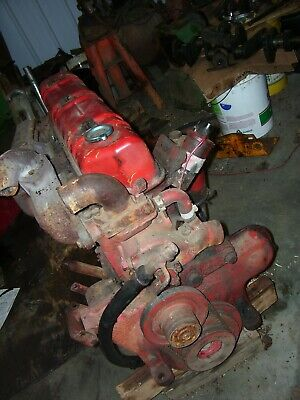 Vintage International 403 Combine Tractor - 263 - 6 Cyl Gas Engine-runs Ok