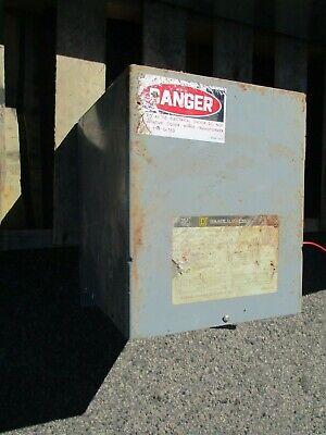 Square D 10s40f 10 Kva 1 480 X 120240 Volt Transformer Ns- T132