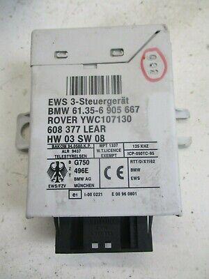 BMW MINI R50 R52 R53 Security Immobiliser ECU Kit Genuine Tested - 6905667
