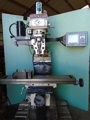 Prototrak M3 Birmingham Cnc Mill Prototrak 3 Axis M3 30 Taper Video Link
