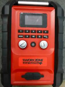 WORKZONE PORTABLE BLUETOOTH RADIO - GREAT CONDITION Campbelltown Campbelltown Area Preview