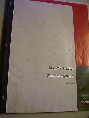 Vintage Ihc Farmall Operators  Manual  M   Mv Tractors