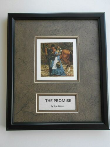 """The Promise""   framed art   -    Don Stivers"