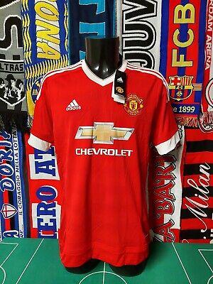 Maglia Calcio Manchester United 2015/16 Shirt Trikot Camiseta Maillot Jersey New