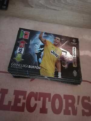 Used, Panini UEFA Champions League 2012-2013 LIMITED EDITION  Buffon for sale  Shipping to Nigeria