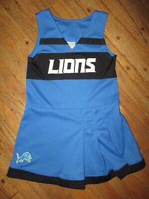 Detroit Lions Cheerleader Outfit Fußball NFL Fan Kostüm - Cheerleader Kostüme Für Mädchen